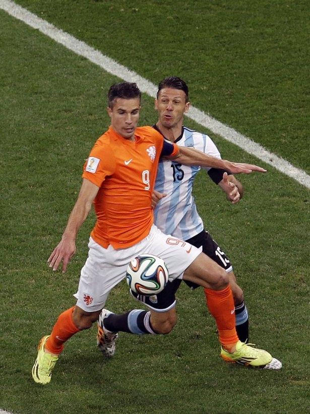 Hollanda-Arjantin maçı 31