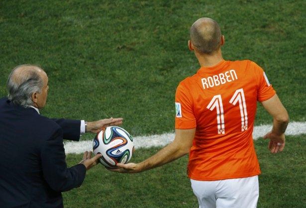 Hollanda-Arjantin maçı 32