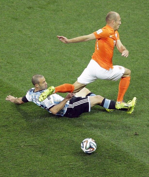 Hollanda-Arjantin maçı 4
