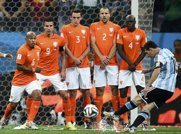 Hollanda-Arjantin maçı 9