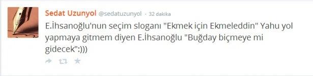 'Ekmek için Ekmeleddin' sloganı twitter'ı salladı 10