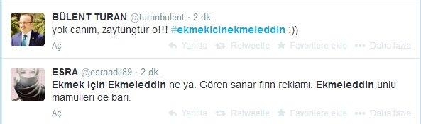 'Ekmek için Ekmeleddin' sloganı twitter'ı salladı 14