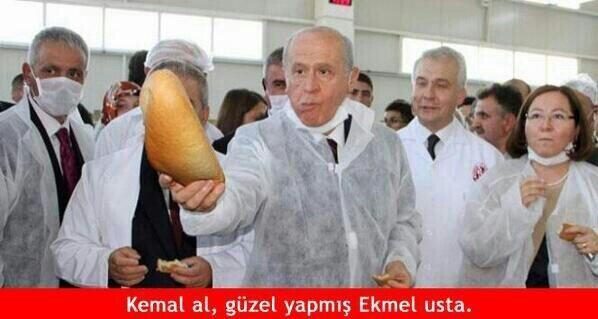 'Ekmek için Ekmeleddin' sloganı twitter'ı salladı 26