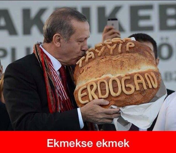 'Ekmek için Ekmeleddin' sloganı twitter'ı salladı 27