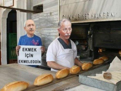 'Ekmek için Ekmeleddin' sloganı twitter'ı salladı 32