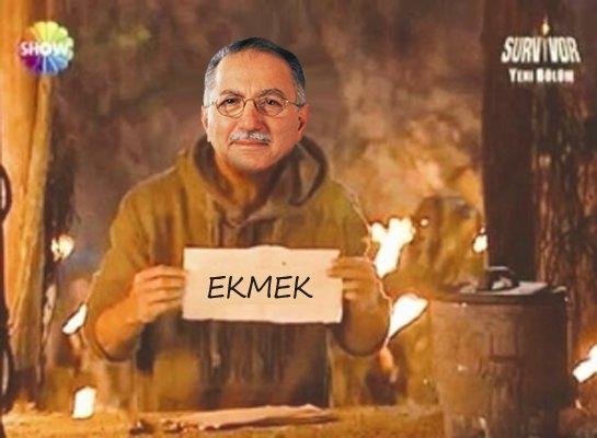 'Ekmek için Ekmeleddin' sloganı twitter'ı salladı 39