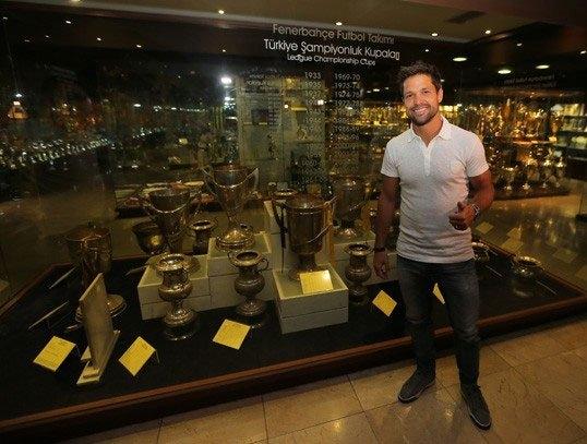 Diego, Saraçoğlu Stadı'nı gezdi 1