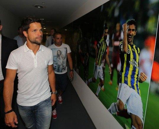 Diego, Saraçoğlu Stadı'nı gezdi 13