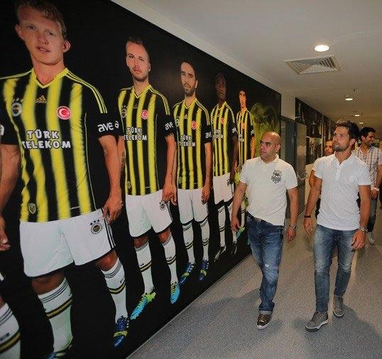 Diego, Saraçoğlu Stadı'nı gezdi 14