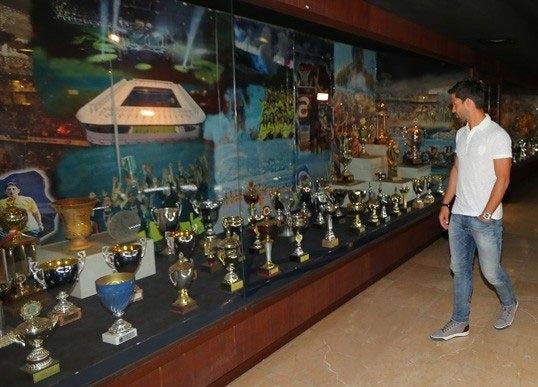Diego, Saraçoğlu Stadı'nı gezdi 6
