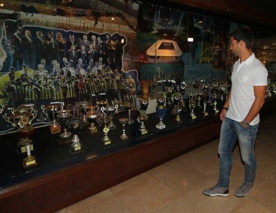 Diego, Saraçoğlu Stadı'nı gezdi 7