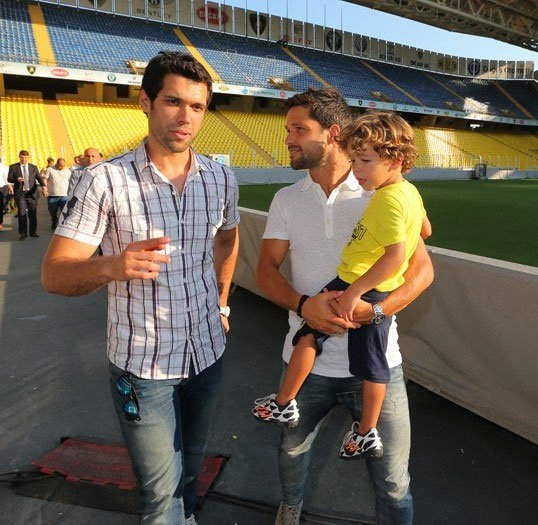 Diego, Saraçoğlu Stadı'nı gezdi 8
