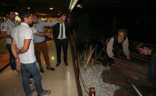 Diego, Saraçoğlu Stadı'nı gezdi 9