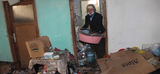 Çöp evden dram çıktı 9