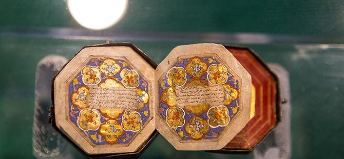 Mevlana Müzesi'nde 4 santimlik Kur'an 1