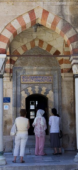 Mevlana Müzesi'nde 4 santimlik Kur'an 10