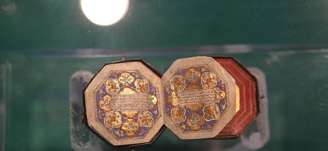 Mevlana Müzesi'nde 4 santimlik Kur'an 3
