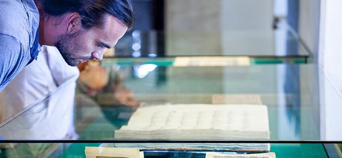 Mevlana Müzesi'nde 4 santimlik Kur'an 5