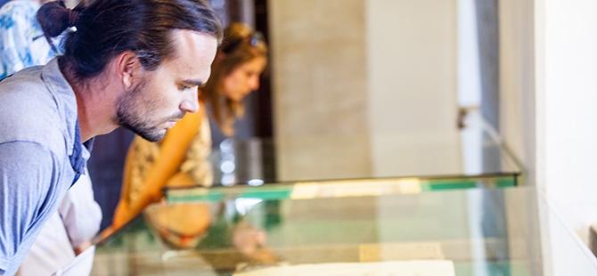 Mevlana Müzesi'nde 4 santimlik Kur'an 7