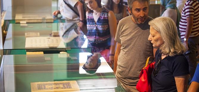 Mevlana Müzesi'nde 4 santimlik Kur'an 8