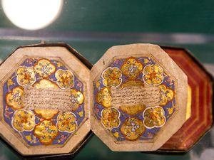 Mevlana Müzesi'nde 4 santimlik Kur'an