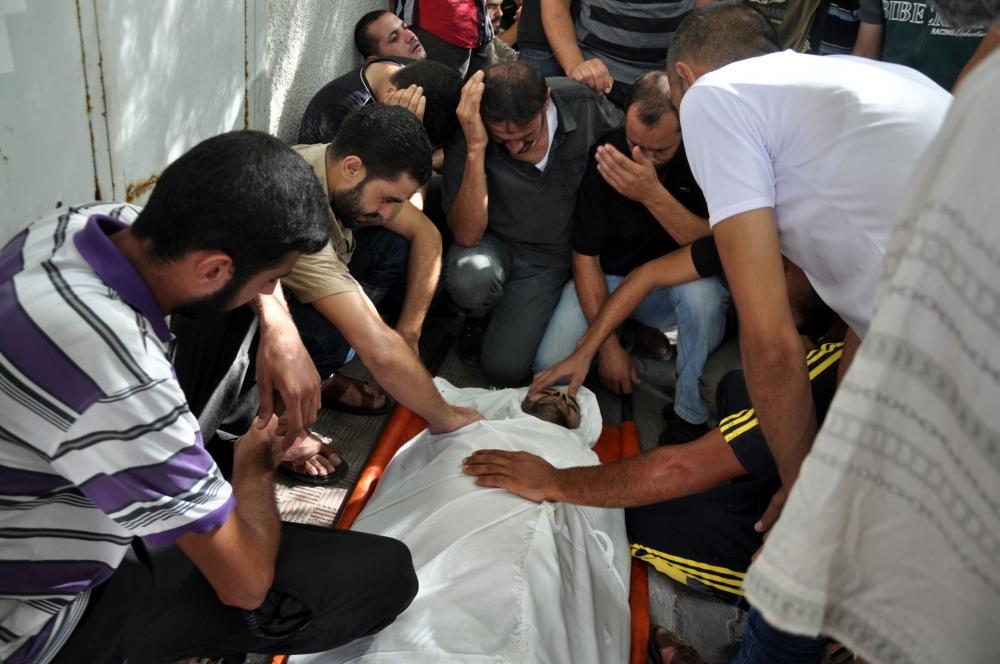 İsrail'in Gazze'ye saldırıları 1