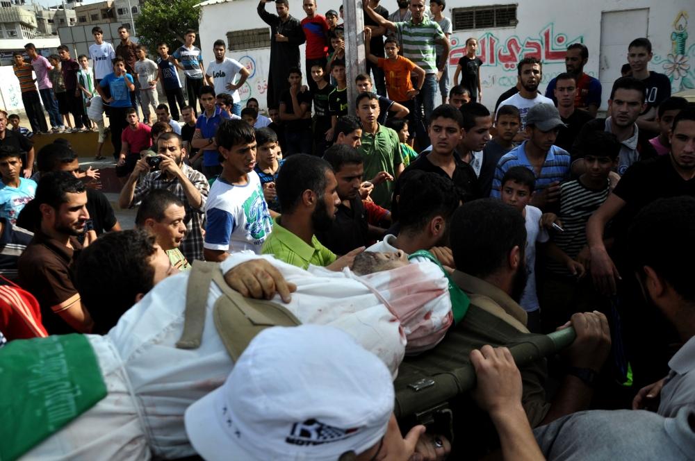 İsrail'in Gazze'ye saldırıları 3