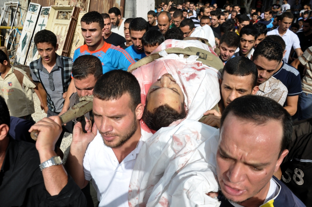 İsrail'in Gazze'ye saldırıları 4