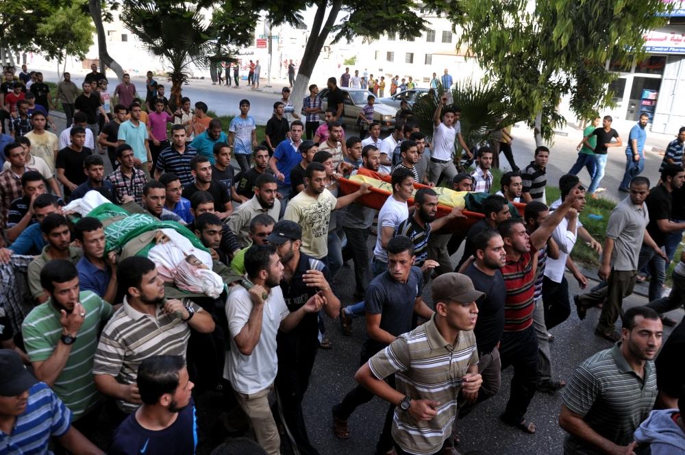 İsrail'in Gazze'ye saldırıları 7