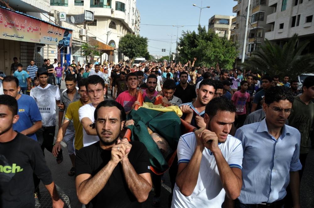 İsrail'in Gazze'ye saldırıları 8