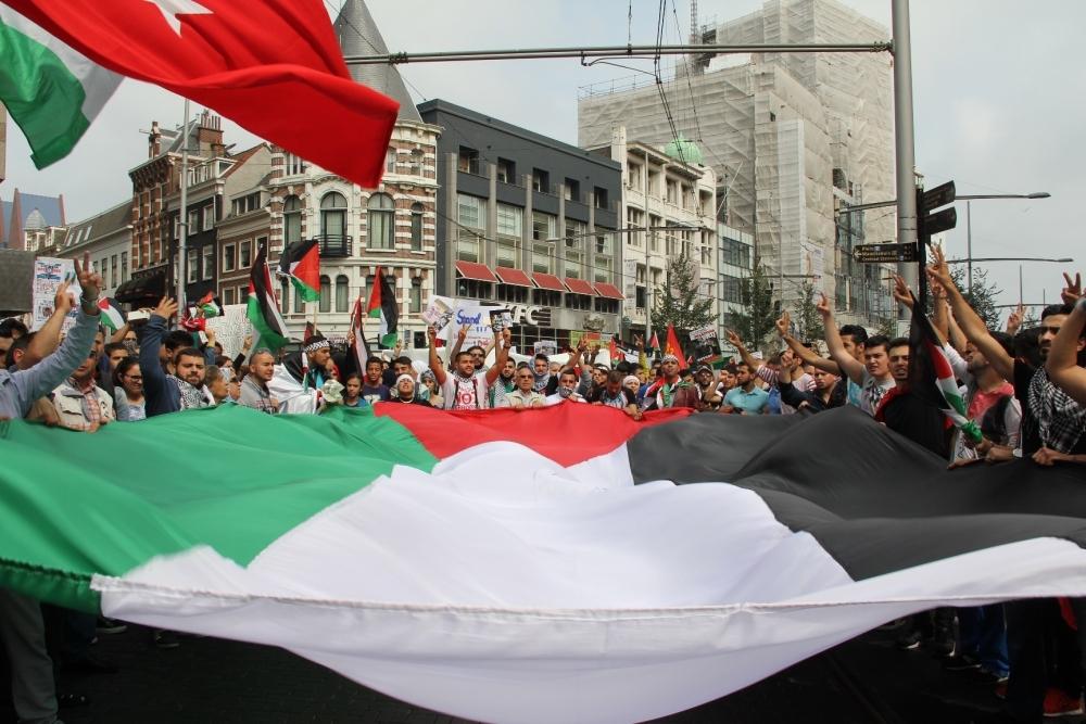 LAHEY'DE İSRAİL PROTESTOSU 10