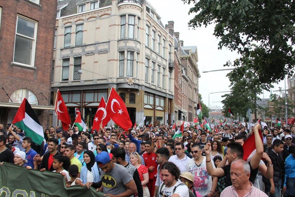 LAHEY'DE İSRAİL PROTESTOSU 11