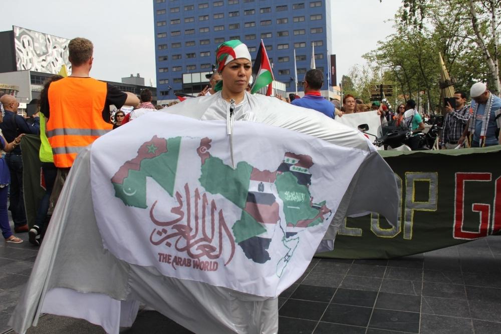 LAHEY'DE İSRAİL PROTESTOSU 12