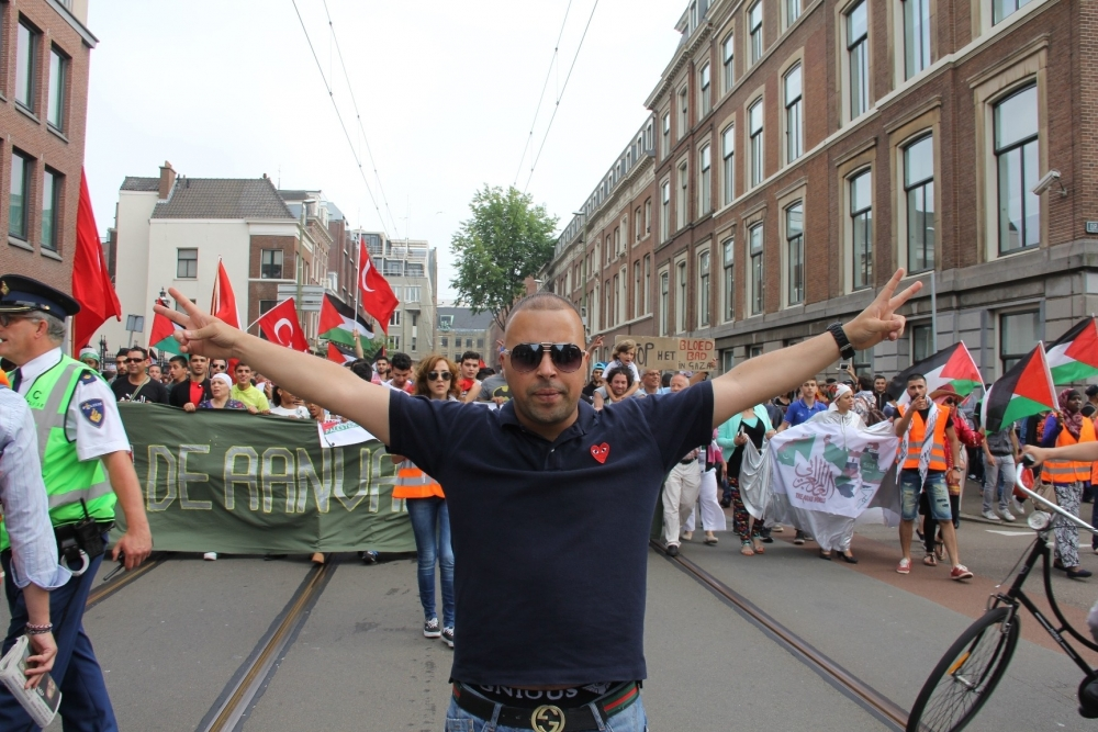 LAHEY'DE İSRAİL PROTESTOSU 14