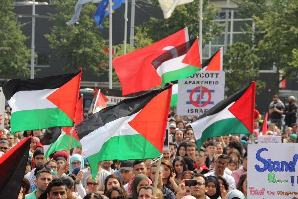 LAHEY'DE İSRAİL PROTESTOSU 2