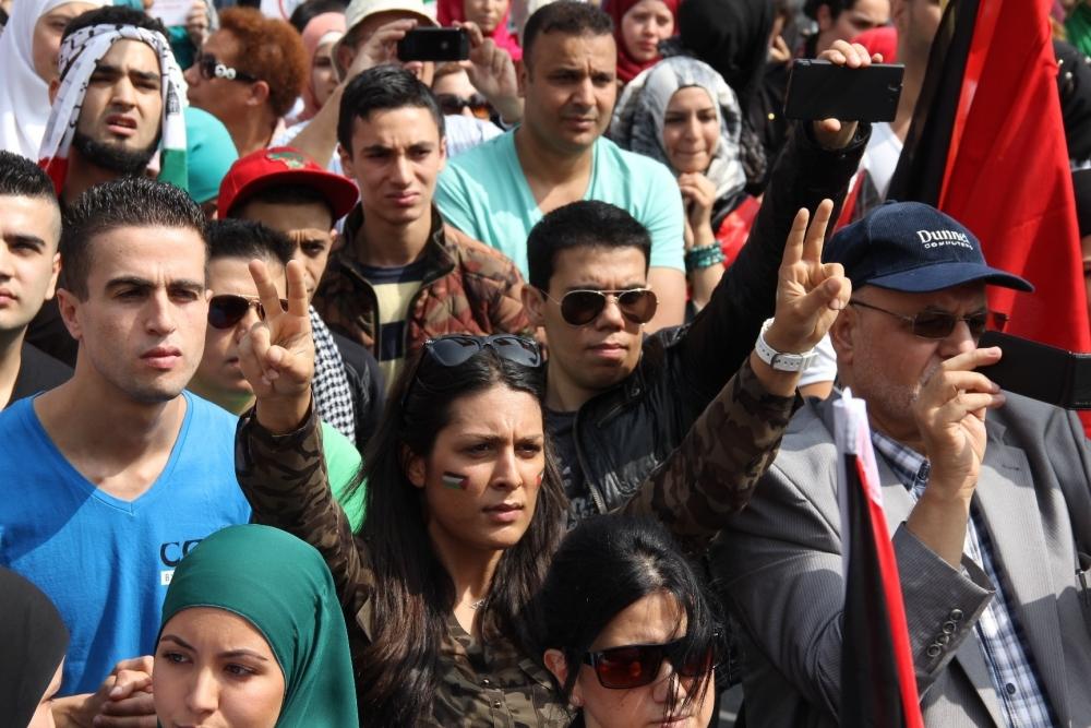 LAHEY'DE İSRAİL PROTESTOSU 4