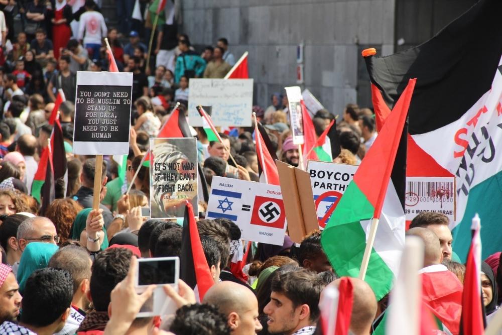 LAHEY'DE İSRAİL PROTESTOSU 5