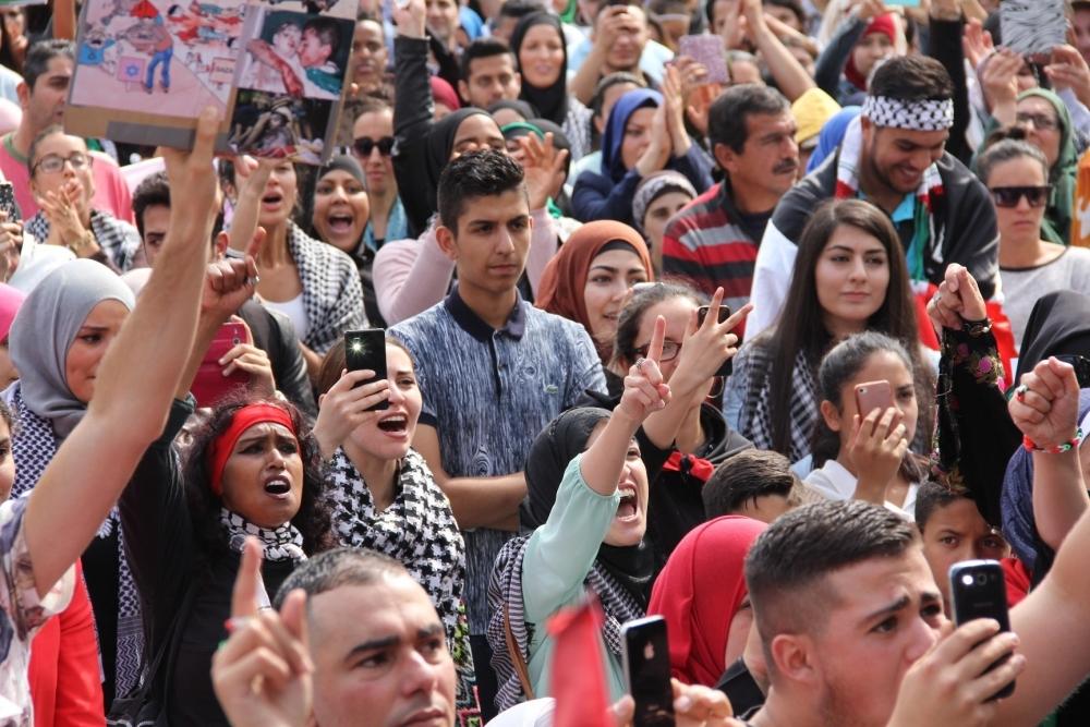 LAHEY'DE İSRAİL PROTESTOSU 7