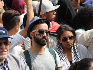 LAHEY'DE İSRAİL PROTESTOSU