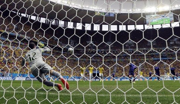 Brezilya-Hollanda maçı 14