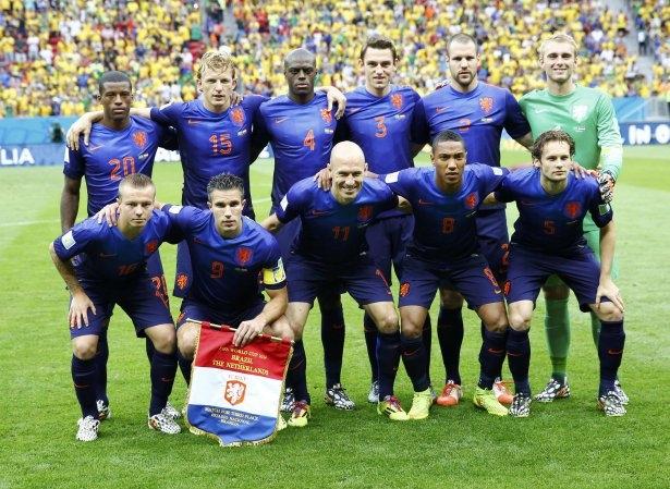 Brezilya-Hollanda maçı 2