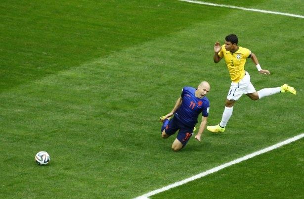 Brezilya-Hollanda maçı 3