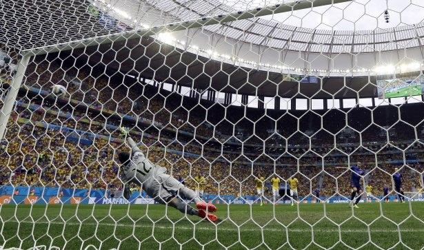 Brezilya-Hollanda maçı 6