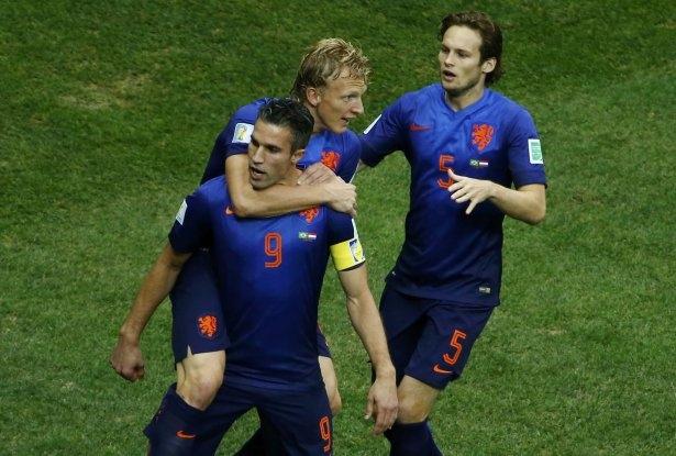 Brezilya-Hollanda maçı 7