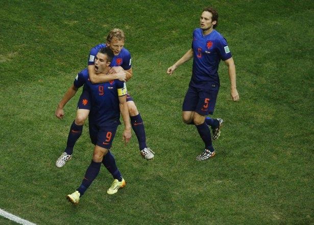 Brezilya-Hollanda maçı 8
