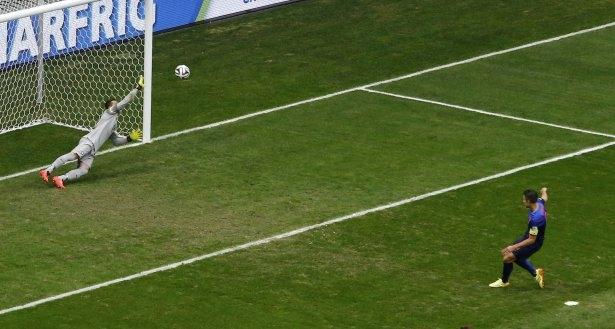 Brezilya-Hollanda maçı 9