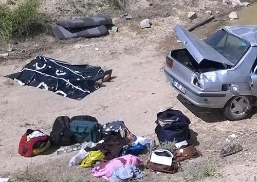 Katliam gibi kaza: Trafik amiri, oğlu ve iki kızı öldü 4