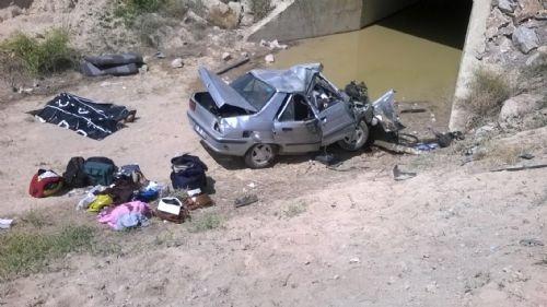 Katliam gibi kaza: Trafik amiri, oğlu ve iki kızı öldü 5