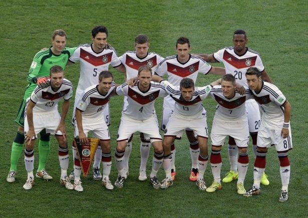 Almanya-Arjantin FİNAL maçı 12