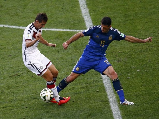 Almanya-Arjantin FİNAL maçı 13